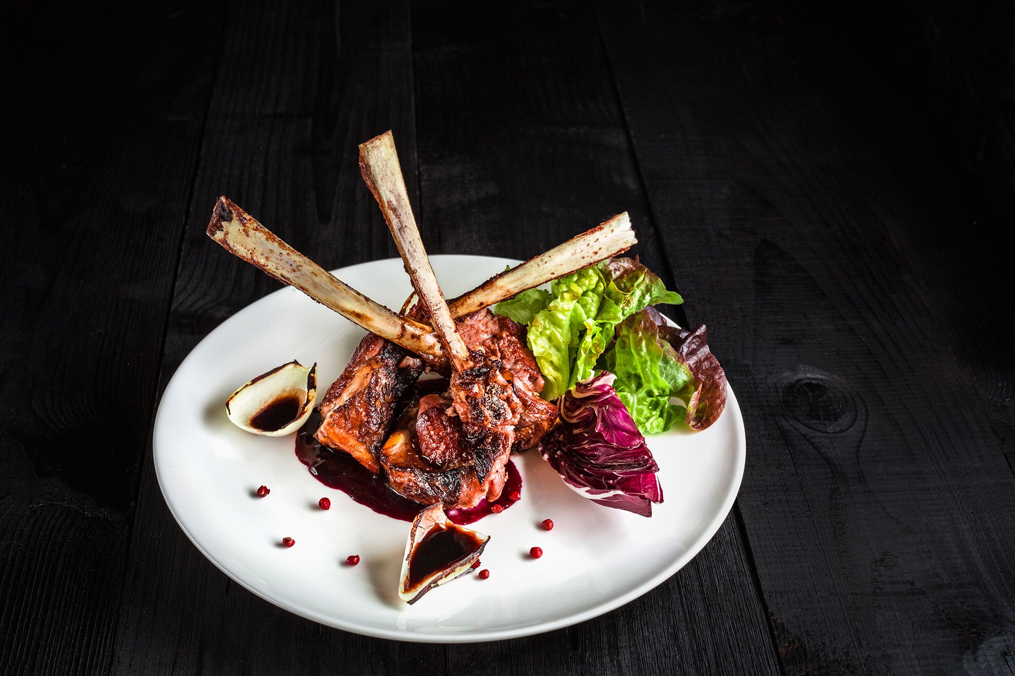 Gourmet-Main-Entree-Course-Grilled-rack-of-lamb