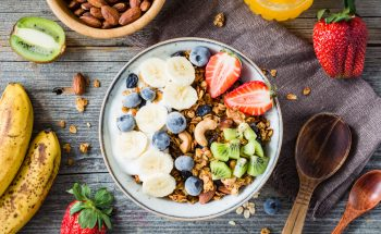 oats and fruit