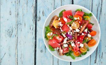 watermelon salad  350x215 - Blog
