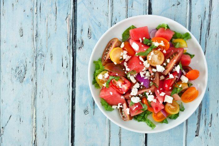 watermelon salad  700x467 - Summer Recipes